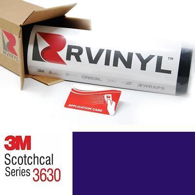 3M 3630 Scotchcal Blue 36 Translucent Vinyl Film Craft Sign DIY Hobby Sheet Roll