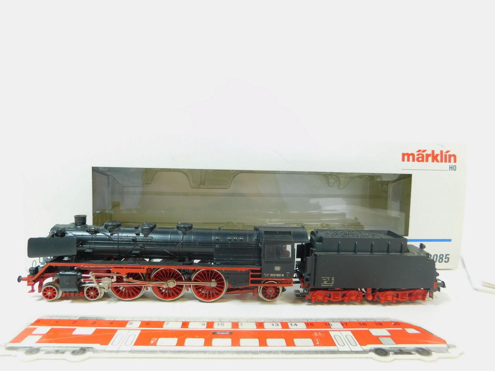 BL26-2  Märklin Hobby H0 AC 3085 Dampflokomotive 003 160-9 DB Rauch sehr gutOVP  | Ausgezeichnet