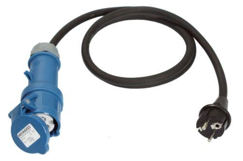 Adapterleitung Anschluss Adapter Stromadapter Kabeladapter Wohnwagen 1,5m