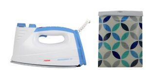 Rotel Professional Extra Bleu+Blanc Housse Planche à Repasser Avec Couleur
