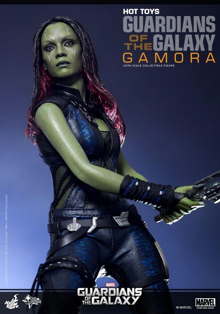 HOT TOYS Marvel 1 6 Guardianes de la Galaxia Gamora Zoe Saldana Figura De Acción