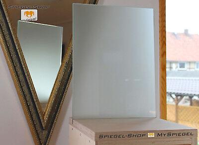 Kanten geschliffen und poliert Zuschnitt bis 40 x 60 cm Ecken gesto/ßen 6mm Schnell und sicher vom Hersteller. 400 x 600 mm Satinato//Milchglas//Mattglas: mattierte Glasplatten nach Ma/ß