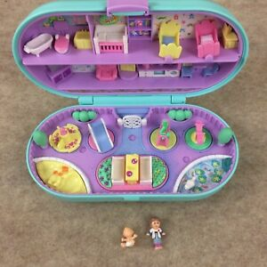 Dolls, Clothing & Accessories Special Section Bluebird 1994 Polly Pocket Swing Set Playground