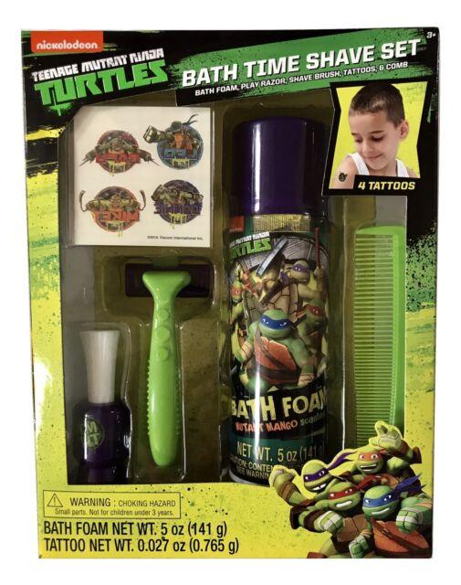 Nickelodeon Teenage Mutant Ninja Turtles Bath Time Shave Set for ...