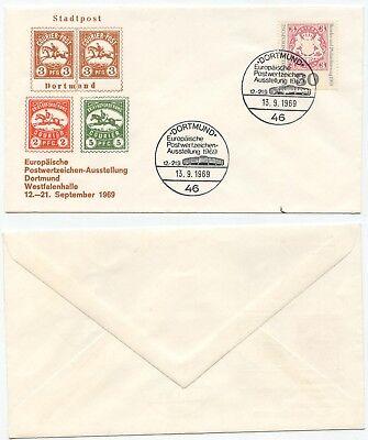 06437 - Sst: Europäische Postwertzeichen-ausstellung - Dortmund 13.9.1969