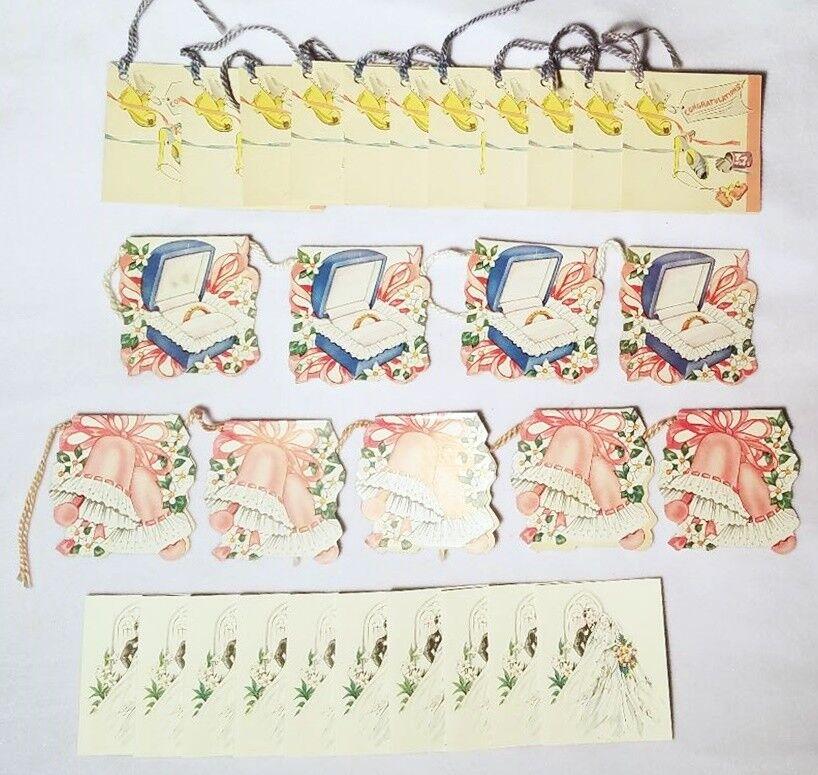 Lot 30 Tally Cards Bridge Game Tally Place Cards Wedding Bridal Theme