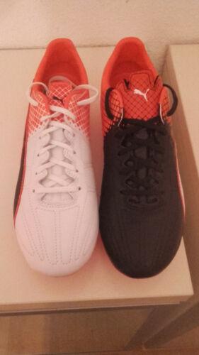 Puma Fußballschuhe Marco REUS evoSpeed 3.5 LTH FG Gr. 42 weiß rot orange schwarz