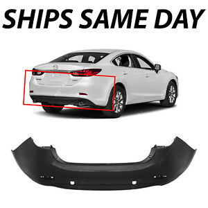 Details About New Primered Rear Per Cover For 2017 2016 Mazda 6 W Dual Exhaust