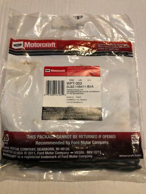 OEM A//C Pressure Switch Connector MOTORCRAFT WPT-303