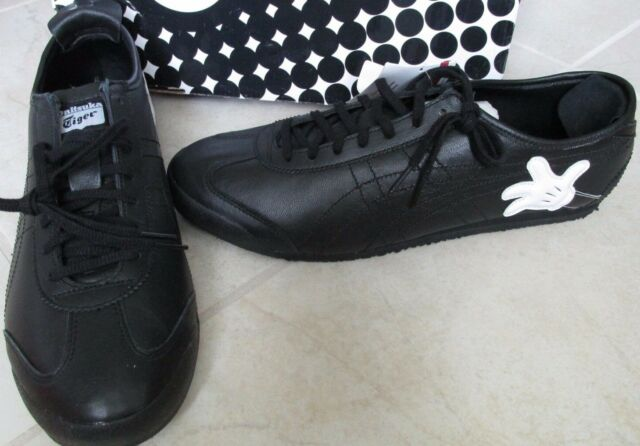online store 49d88 ff0be NEW Asics Onitsuka Tiger Mexico 66 X DISNEY Mickey Mouse Shoes MENS 12.5  BLACK