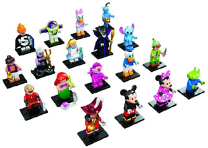 Lego-71012-DISNEY-Series-Minifigures-New-in-Resealed-Bag-Buzz-Ariel-Maleficent