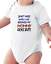 Infant Creeper Bodysuit T-shirt Don/'t Mess With Me My Mommy Kicks Butt