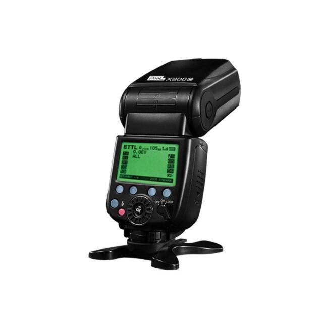 X800C Pixel Pro versione leggera HSS GN60 Speedlite per Canon DSLR
