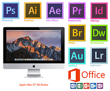 "APPLE iMAC 27"",i5 Skylake,16GB,Retina 2015 Adobe Photoshop,Illustrator,InDesign,"