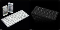Ultra Thin Slim Bluetooth Universal Keyboard For All Apple Ipads Iphones Mac Ios
