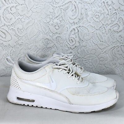 B49 WOMEN'S SHOES SNEAKERS TRAINERS NIKE AIR MAX THEA [599409 101] SIZE 8 7102099203218 | eBay