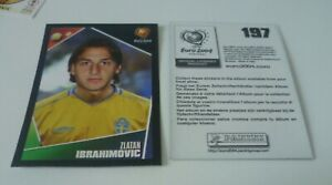 PANINI EURO 2004 Zlatan Ibrahimovic Sticker No 197 Mint