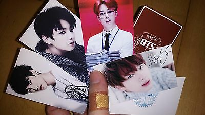 BTS Bangtan PHOTO CARD ((4)) - version 4 - all of 3 set (total 21 cards