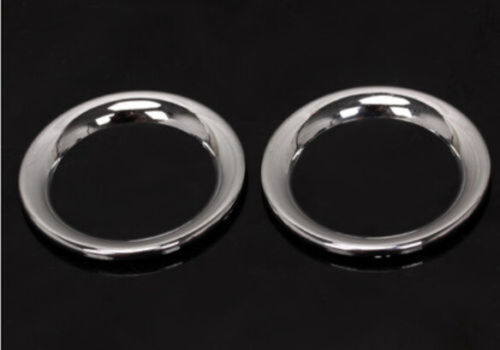For 11-18 Jeep Grand Cherokee Chrome Front Door Sound Stereo Speaker Cover Trim