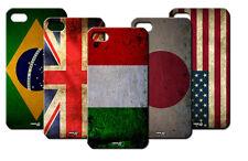 IPM CUSTODIA COVER CASE BANDIERA VINTAGE ITALIA AMERICA PER iPHONE 4 S 4S