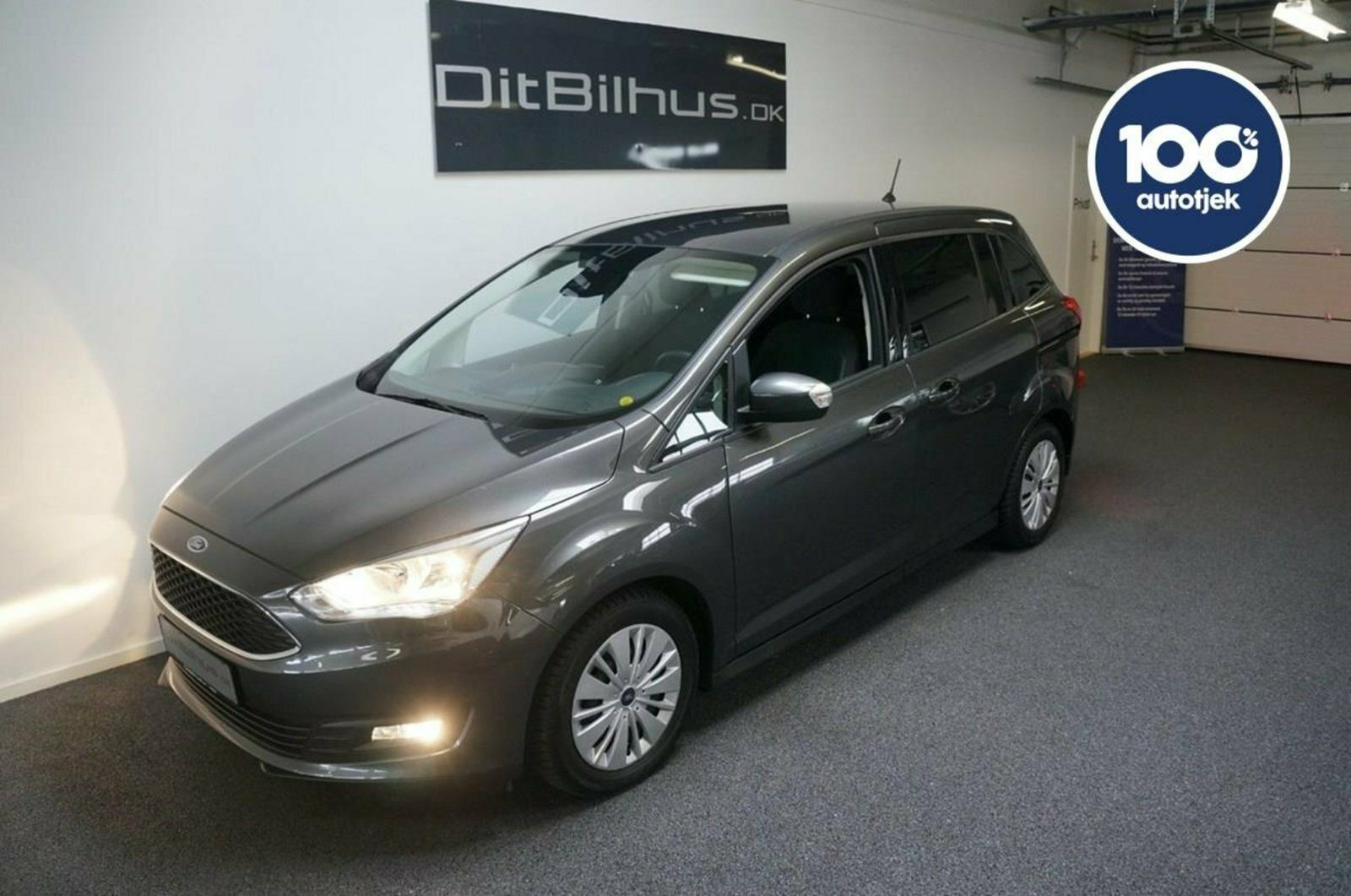 Ford Grand C-MAX 1,0 SCTi 125 Cool & Connect 5d - 254.444 kr.