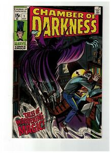 CHAMBER-of-DARKNESS-1-comic-from-1969-in-NM-Marvel