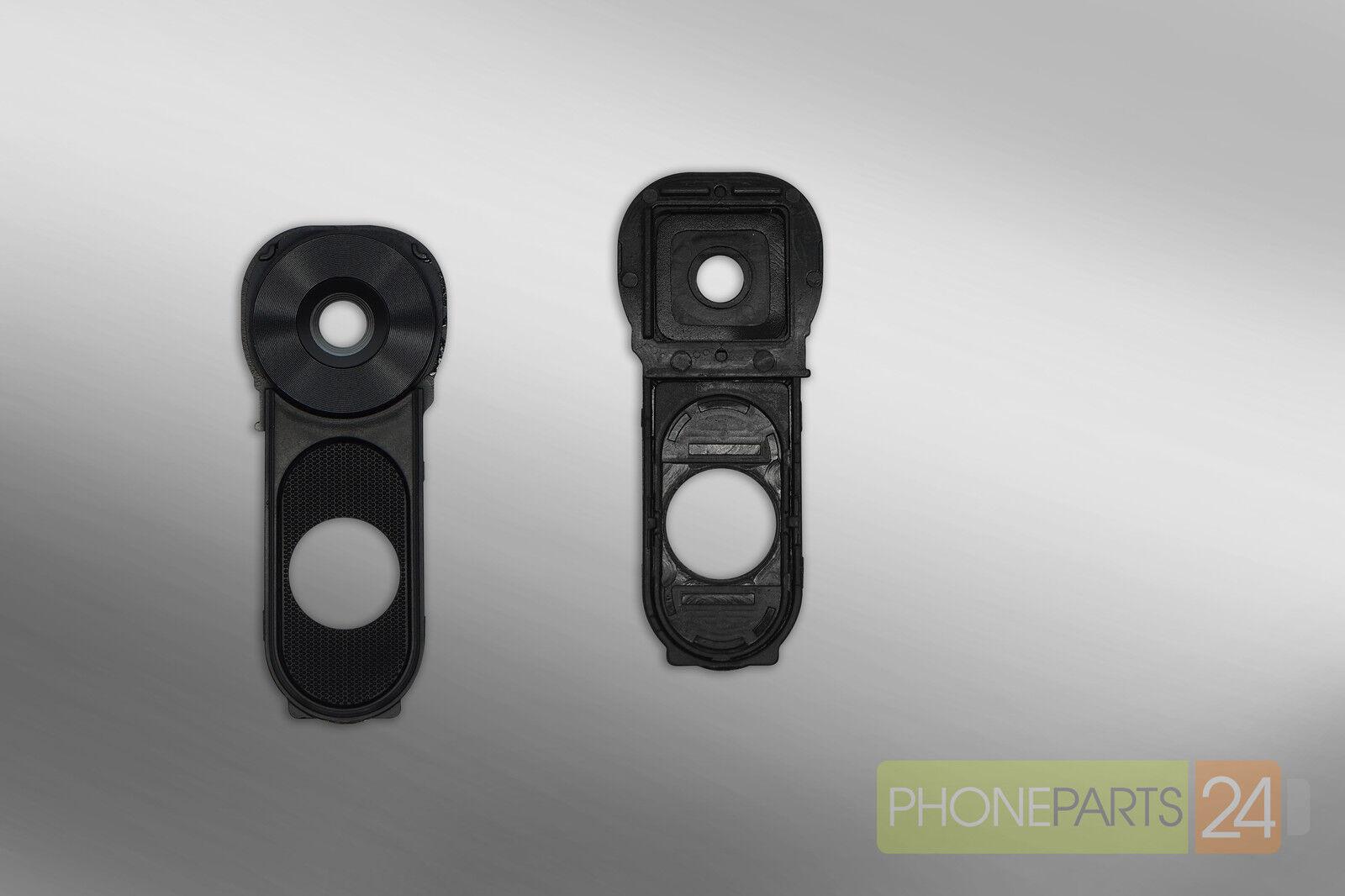 LG V10 Kamera Glas Linse Camera Glass Lens mit Rahmen/Frame Schwarz ...
