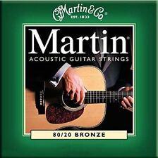 Guitarra Acústica Martin M170 Cuerdas 80/20 Bronce Extra Medidor de Luz .010 - .047