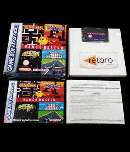 NAMCO-MUSEUM-PAL-Espana-Nintendo-GBA-Complete-Game-Boy-Advance