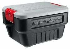 Rubbermaid 1170 ActionPacker Storage Box, 8-Gallon Weather-Resistant Container