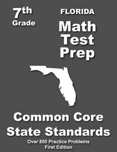 Details about Florida Math Test Prep, Grade 7 : Common Core Learning  Standards, Paperback b