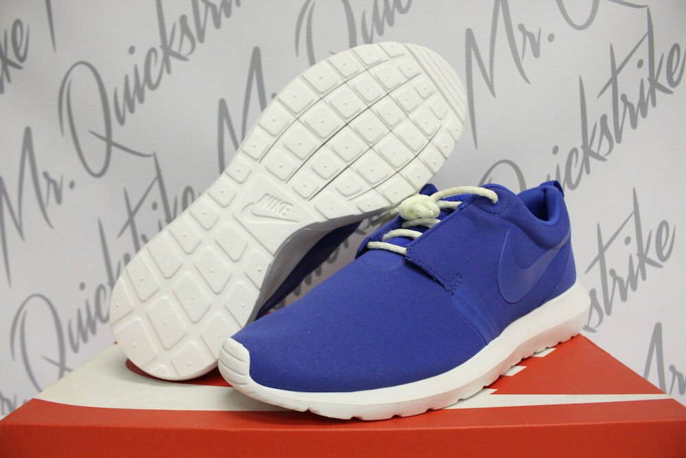 NIKE ROSHERUN NM SZ 8-13 ROSHE NATURAL MOTION ROYAL BLUE SUMMIT WHITE 631749 441