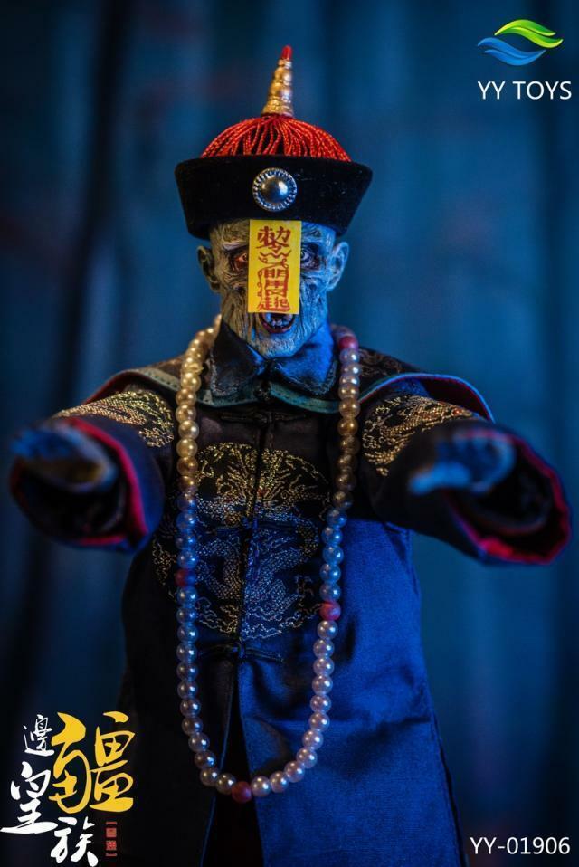 AA Juguetes 1 6 Frontier realeza Zombie la dinastía Qing Antigua Figura Modelo