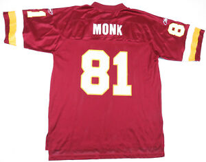 ART MONK WASHINGTON REDSKINS REEBOK ON FIELD NFL FOOTBALL  81 JERSEY ... a808242b6