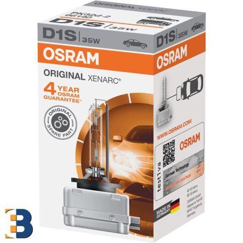 D1S Osram ORIGINAL 66140 XENON BIRNE XENARC HID 35W Single NEU