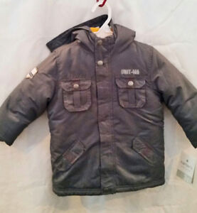 46367c72d Carter s Boys 3 in 1 winter ski jacket coat size 5 6 and 3T Gray