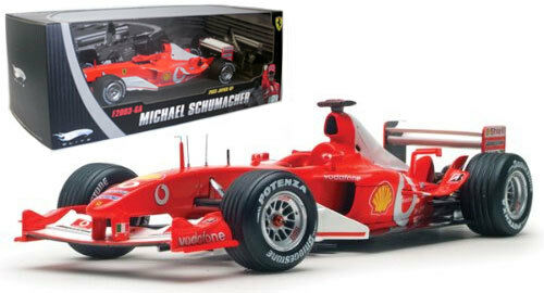 Mattel Elite N2077 Ferrari F2003GA 2003 World Champion - M Schumacher 1 18 Scale