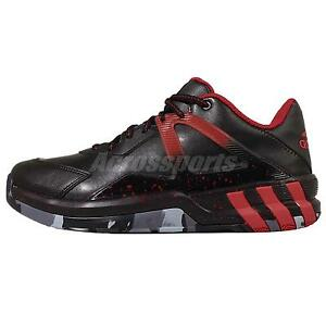 Image is loading adidas-Crazyquick-3-5-Street-Black-Red-Mens-