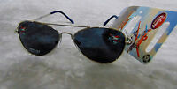 Disney Store Planes Fire & Rescue Sunglasses 100%uva Kids Aviator Girls Boys