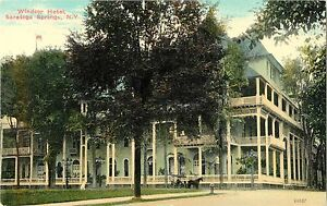Postcard EXCELSIOR SPRINGS Missouri/MO The Maples Hotel