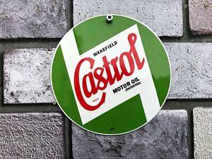 Castrol Enamel Sign Garage Sign Man Cave