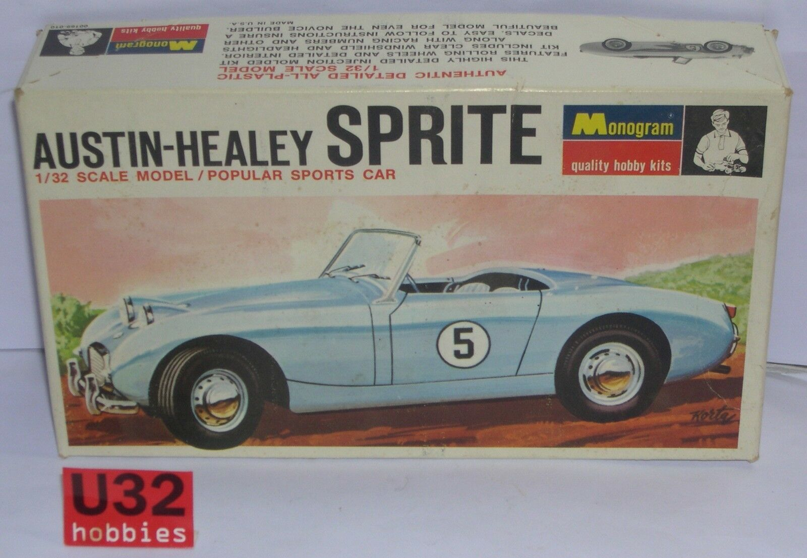 FN MONOGRAM PC169 KIT 1 32 AUSTIN HEALEY SPRITE
