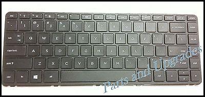 HP Pavilion 14-N 14-N000 14-N100 14-N200 Laptop US Black keyboard With Frame NEW