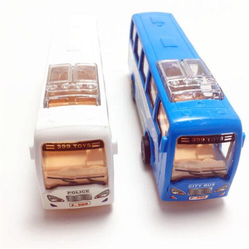 Cartoon school bus students Shuttle Back Plastic school car Child model toys 0U