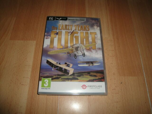 THE EARLY YEARS OF FLIGHT STEAM EDITION EXPANSION PARA MICROSOFT FSX&FS2004 PC
