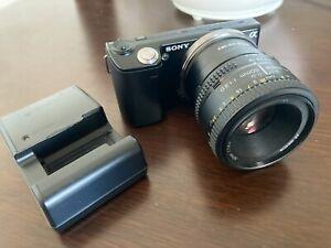 Sony-Alpha-NEX-5-14-2MP-Digital-Camera-Black-Body-Japanese-Model