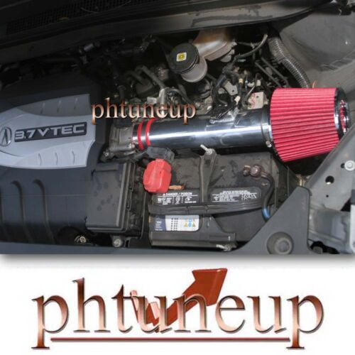 FILTER RED 2007-2013 ACURA MDX 3.7 3.7L V6 AIR INTAKE KIT INDUCTION SYSTEMS