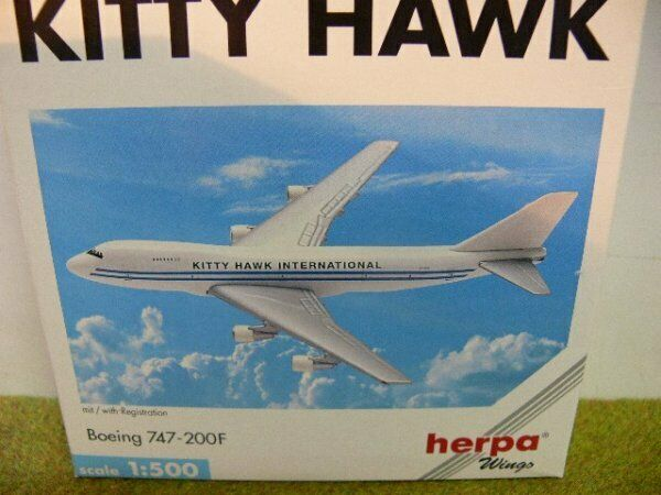 1 1 1 500 Herpa Kitty Hawk Boeing 747-200F 502641 E 3b3aaf