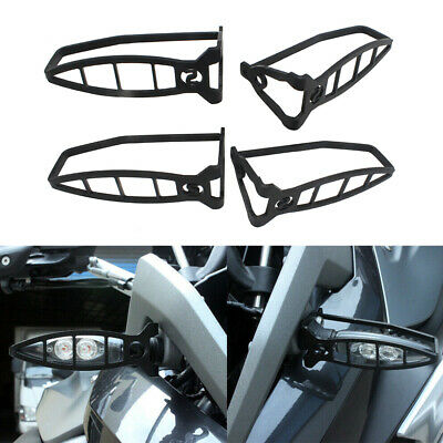 Black Turn Signal Light Grill Protector Cover For BMW F700GS F800GS GT R S1000RR