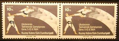 1323 Zielsetzung Briefmarken Türkisch Zypern Postfrisch Minr Paar ............. 156 Waag Kataloge Werden Auf Anfrage Verschickt